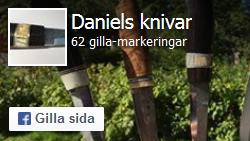 Gilla Daniels knivar på facebook